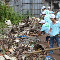 Green Clean Day 2012, Bac Lieu, Vietnam