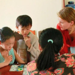 school visit, Kien Giang, Vietnam 2011