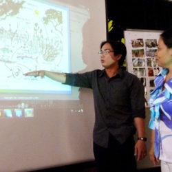 Teacher working group meeting in Bac Lieu 2012