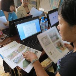 Teacher Working Group meeting, Bac Lieu, Vietnam , 2013