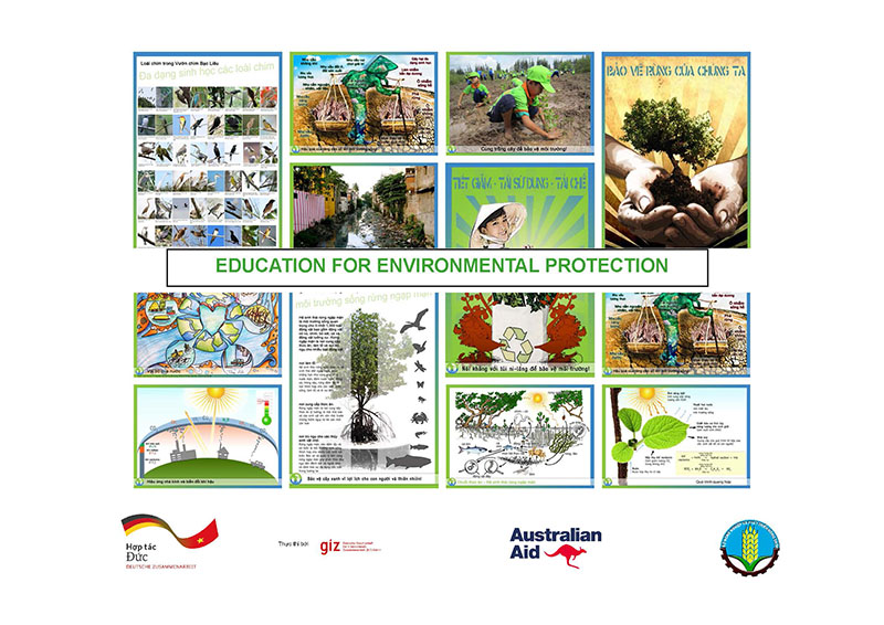 Environmental Education poster set in English - greeneducation4all.com
