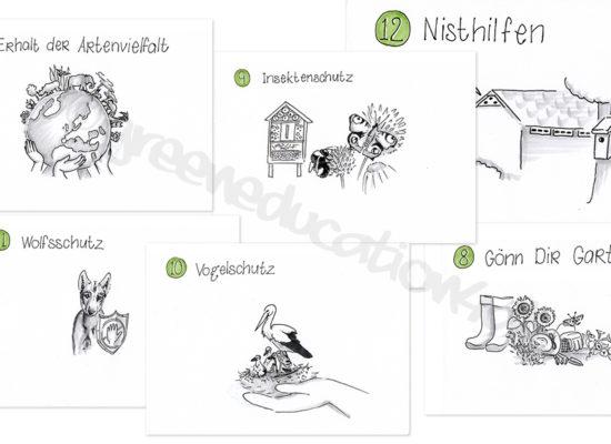 Illustrations for membership recruitment